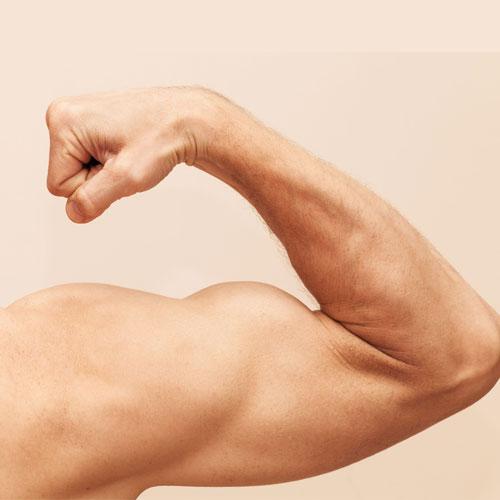 Hormon testosteron v slini